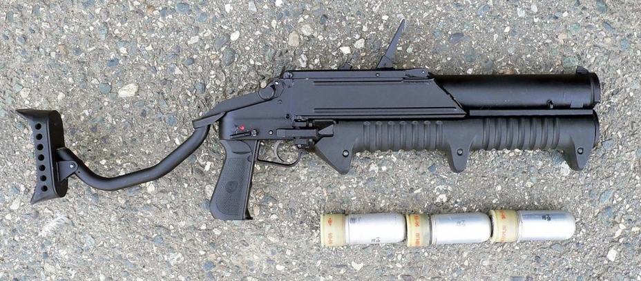 Вместимость магазина гранатомёта ГМ-94 составляет три заряда vitalykuzmin.net - У Росгвардии — новое оружие | Военно-исторический портал Warspot.ru