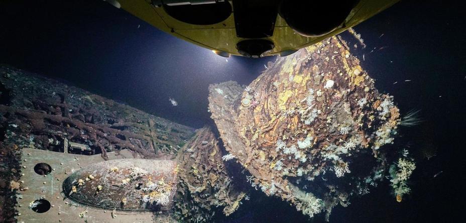 Субмарина U-581 на дне Атлантического океана welt.de - Подлодка кригсмарине нашлась на морском дне | Военно-исторический портал Warspot.ru