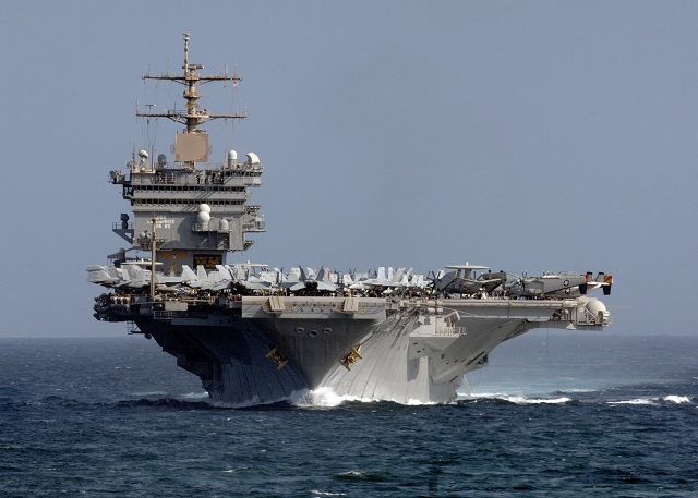 ​Авианосец Enterprise (CVN-65) во время службы, 2012 год. navyrecognition.com - Прощание с «Энтерпрайзом» | Военно-исторический портал Warspot.ru