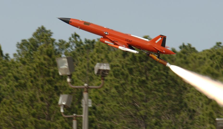 Беспилотник BQM-167A af.mil - Воздушные мишени «дадут сдачи» | Военно-исторический портал Warspot.ru