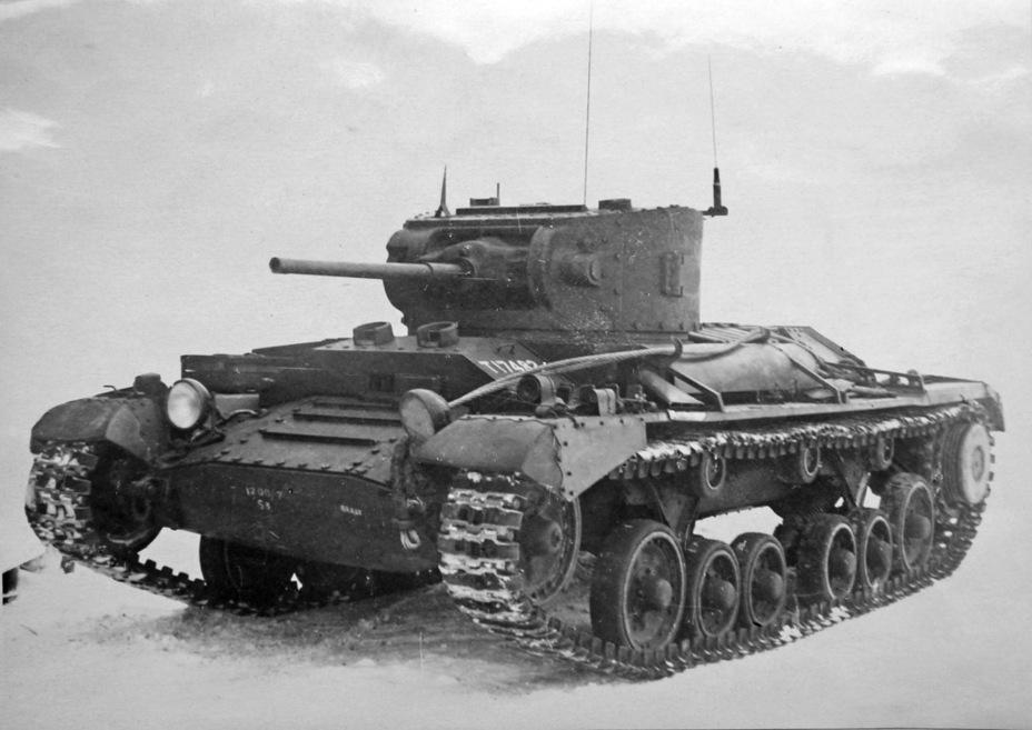 Valentine II на испытаниях. Казань, декабрь 1941 года - Английская поддержка для советской пехоты | Военно-исторический портал Warspot.ru
