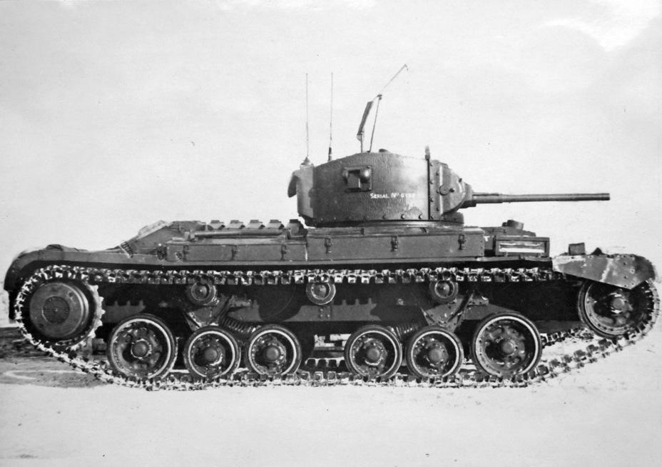 На танке имелась зенитная установка пулемета BREN, более известная как Lakerman Mount - Английская поддержка для советской пехоты | Военно-исторический портал Warspot.ru
