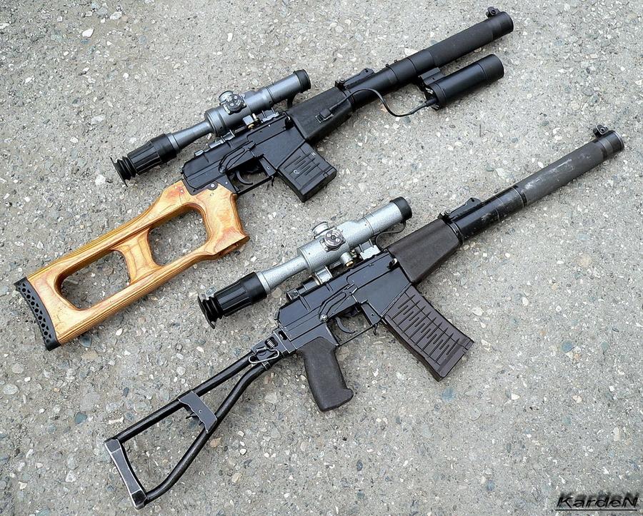 Ближайшие родственники: снайперская винтовка ВСС «Винторез» и специальный автомат АС «Вал» (http://k-a-r-d-e-n.livejournal.com) - Без шума и пыли   Военно-исторический портал Warspot.ru