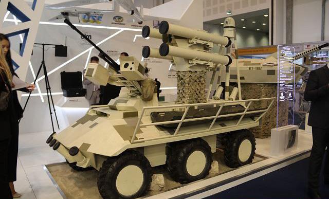 Беспилотный бронетранспортер «Фантом» armyrecognition.com - Международный дебют «Фантома» | Военно-исторический портал Warspot.ru