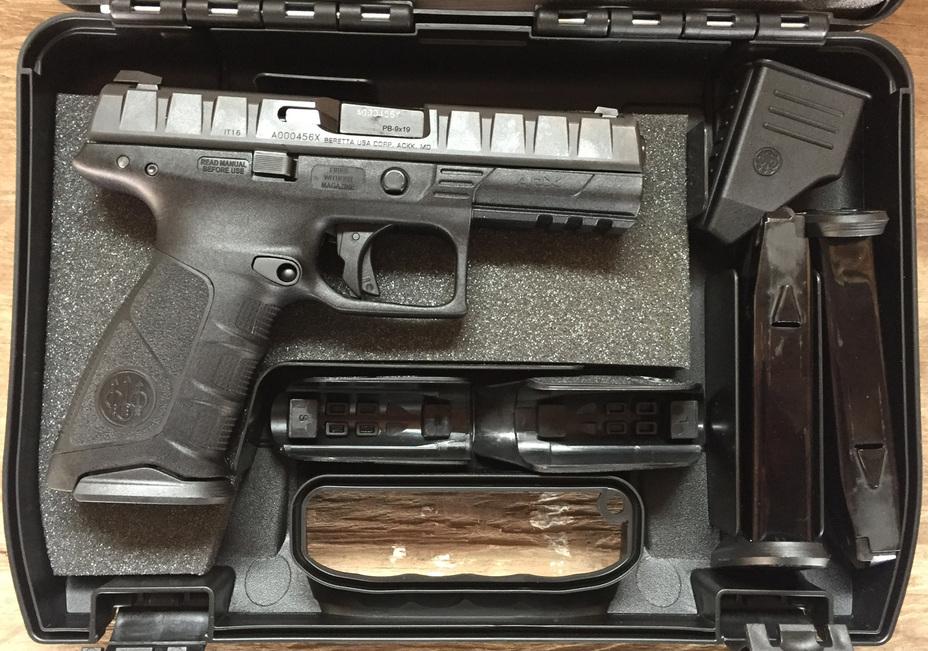 Комплектация пистолета Beretta APX guns.com - «Полимерная» Beretta идет на гражданский рынок | Военно-исторический портал Warspot.ru