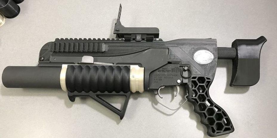 Гранатомет RAMBO popularmechanics.com - RAMBO: гранатомет из 3D-принтера | Военно-исторический портал Warspot.ru
