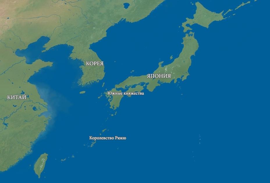 Япония в XVII веке. Карта автора - 257 лет японского долготерпения | Военно-исторический портал Warspot.ru
