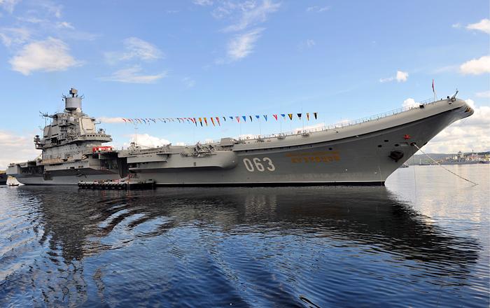 Авианесущий крейсер «Адмирал Кузнецов» interfax.ru - «Адмирал Кузнецов» уйдёт на модернизацию | Военно-исторический портал Warspot.ru