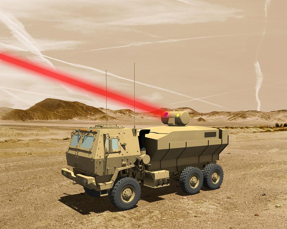 Компьютерная модель мобильной лазерной установки lockheedmartin.com - Лазерный рекорд США | Военно-исторический портал Warspot.ru