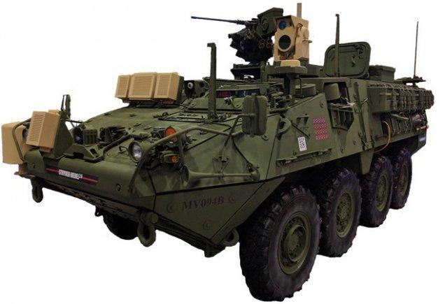 Американские БТРы испытали лазерное оружие