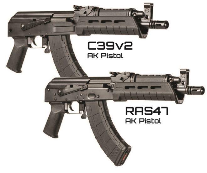 Автоматы C39v2 AK Pistole и RAS47 AK Pistole guns.com - «Пистолетные» клоны АК | Военно-исторический портал Warspot.ru