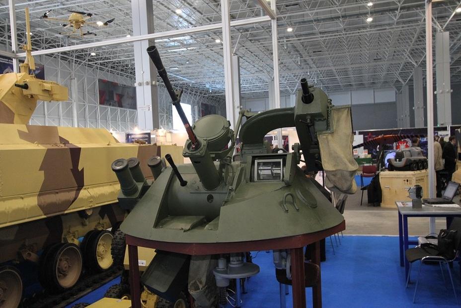 МА8 — еще один вариант боевого модуля для комплекса «Вихрь» Фото: Денис Федутинов - Роботы для поля брани
