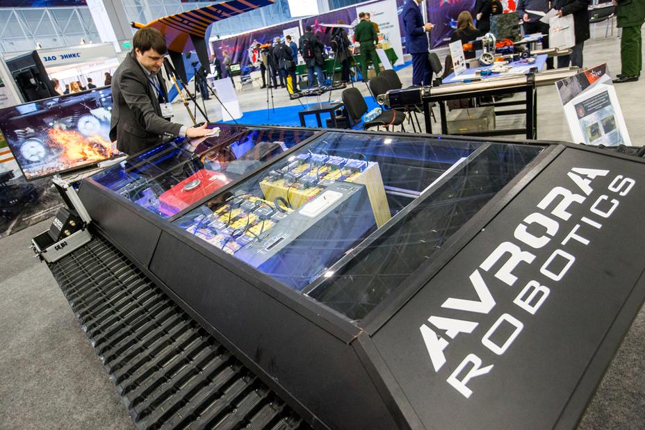 Беспилотная транспортная платформа «Марс А-800» минобороны.рф - Роботы для поля брани