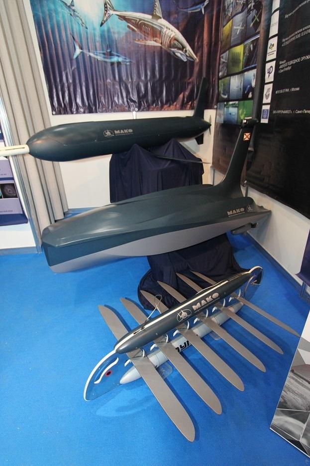 Линейка необитаемых подводных и надводных глайдеров от консорциума «Научно–производственная группа «МАКО» Фото: Денис Федутинов - Роботы для поля брани