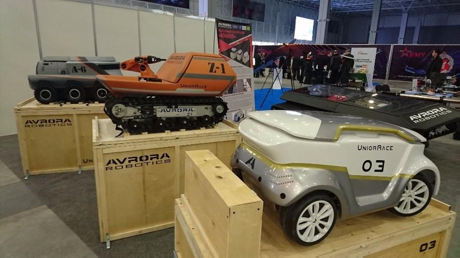 Роботизированные многоцелевые машины разработки КБ «Аврора» kpfu.ru - Роботы для поля брани