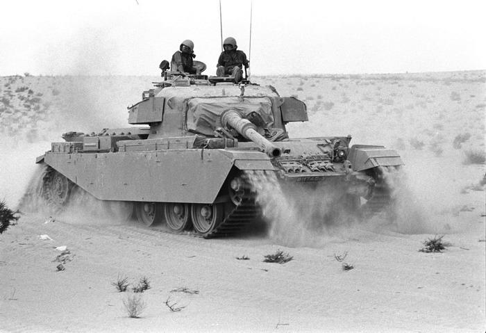 Израильский танк «Шот Каль» во время войны Судного Дня, октябрь 1973 4.bp.blogspot.com - Синайский танковый разгром | Военно-исторический портал Warspot.ru