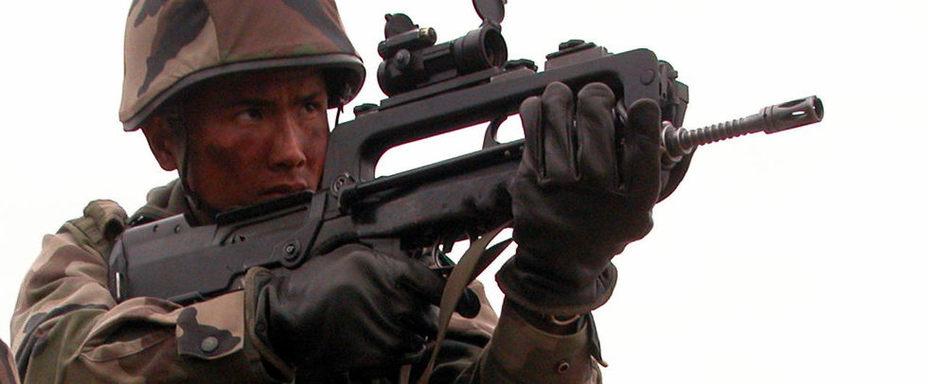 Автомат FAMAS thefirearmblog.com - Французская армия вооружается «немцами» | Военно-исторический портал Warspot.ru
