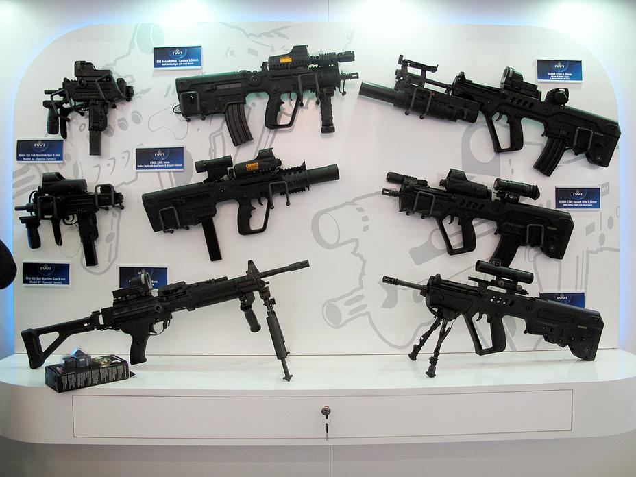 Стрелковое оружие, разработанное компанией IWI. prezi.com - Израильские «Таворы» будут собирать в Индии | Военно-исторический портал Warspot.ru