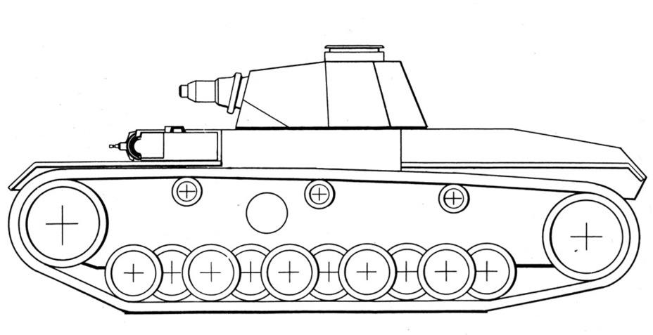 ?Финальная конфигурация VK 65.01. Согласно документам, был изготовлен корпус из неброневой стали - Немецкий лев | Военно-исторический портал Warspot.ru