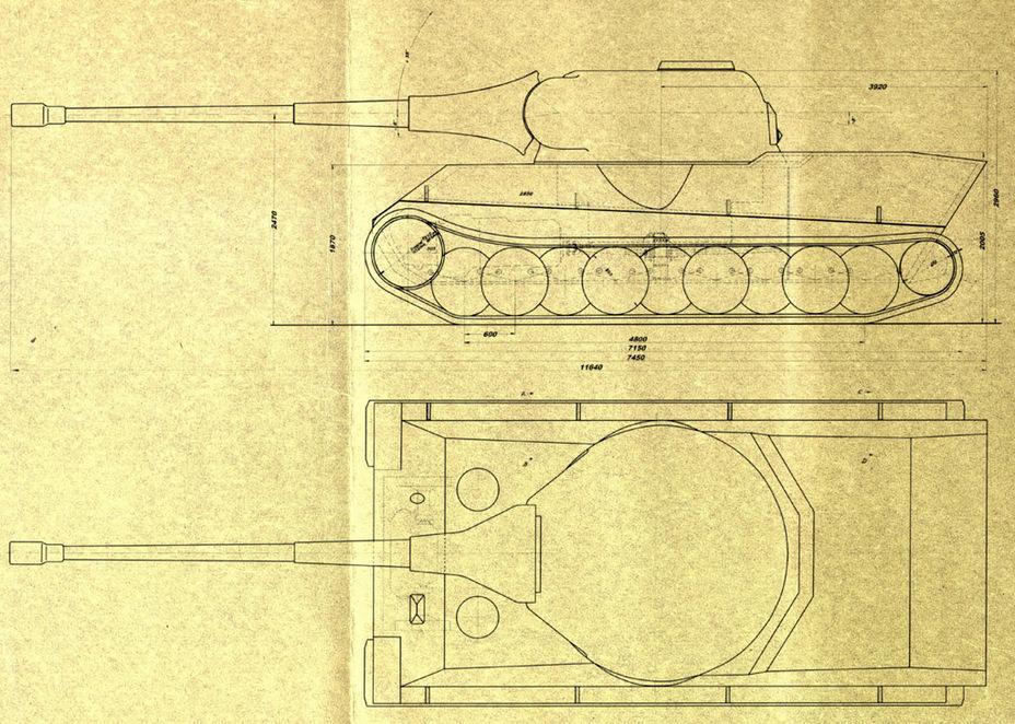 ?«Каноничный» Pz.Kpfw. L?we, чертеж W 1661 от 7 апреля 1942 года. Особое внимание на лобовую часть корпуса – она изготовлена из одного гнутого листа - Немецкий лев | Военно-исторический портал Warspot.ru