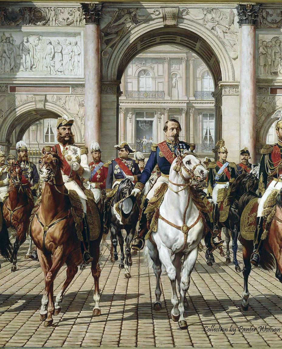 Наполеон III въезжает в Париж - Крымская война: взгляд с той стороны | Военно-исторический портал Warspot.ru