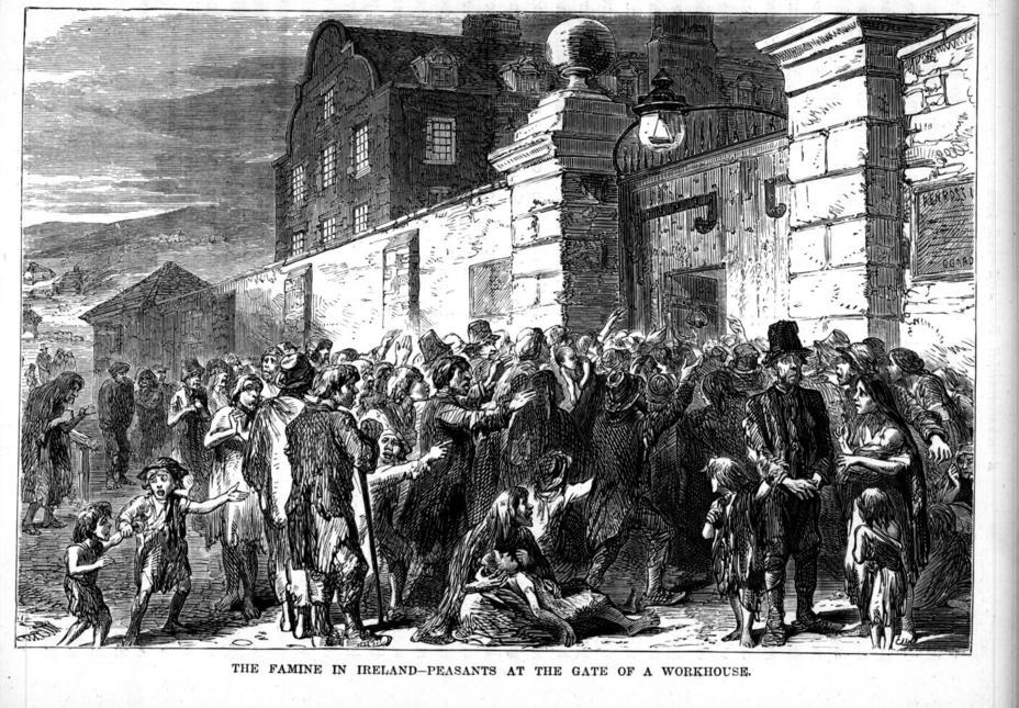 Голод в Ирландии - Крымская война: британский и французский резоны | Военно-исторический портал Warspot.ru