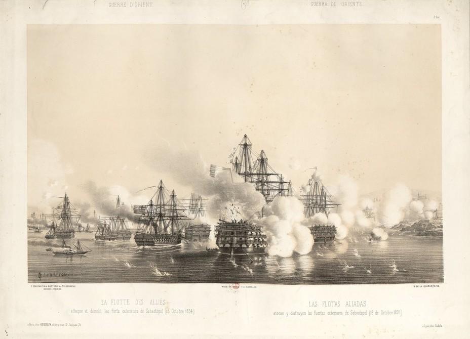 Бомбардировка Севастополя в октябре 1854 года - Крымская война: что делать? | Военно-исторический портал Warspot.ru