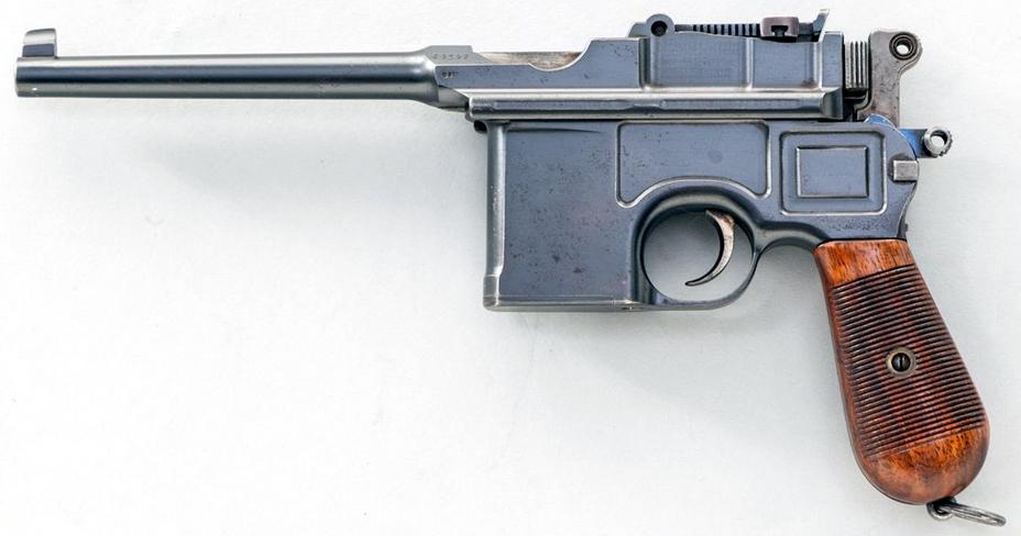 «Маузер» С96, выпущенный перед началом Первой мировой войны. К этому моменту это уже был отработанный в производстве популярный коммерческий пистолет. - Ваше слово, товарищ «маузер»! | Военно-исторический портал Warspot.ru