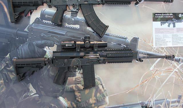Автомат Modular Automatic Rifle в калибре 7,62×39 мм armyrecognition.com - Сербы показали свой новый автомат | Военно-исторический портал Warspot.ru