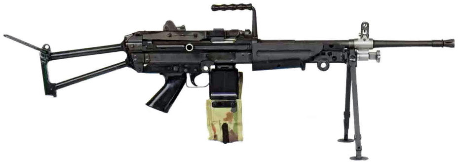 Прототип пулемёта M249 SAW. - Шквальный огонь одинокого бойца | Военно-исторический портал Warspot.ru