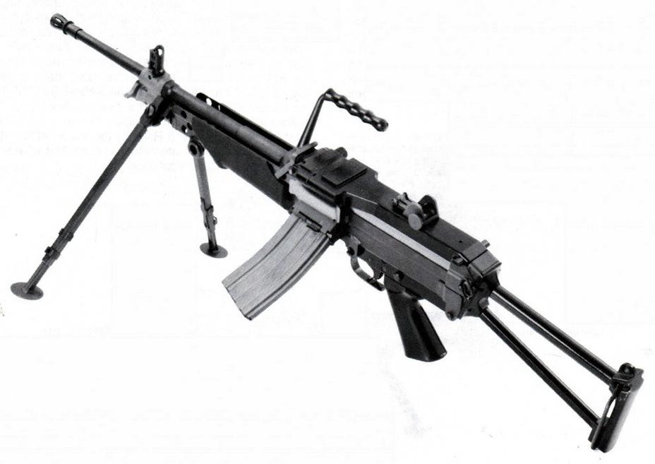 Опытный пулемет XM249, 1977 год. - Шквальный огонь одинокого бойца | Военно-исторический портал Warspot.ru