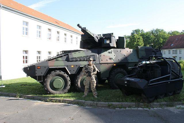 Четыре составляющие Infantry System rheinmetall-defence.com - Немцы разработали «Пехотную систему» | Военно-исторический портал Warspot.ru