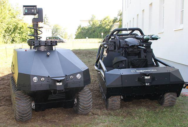 Беспилотники MM UGV rheinmetall-defence.com - Немцы разработали «Пехотную систему» | Военно-исторический портал Warspot.ru