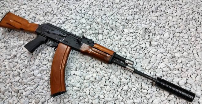 АК с газовым блоком от Definitive Arms thefirearmblog.com - АК научат стрелять «мягко» | Военно-исторический портал Warspot.ru