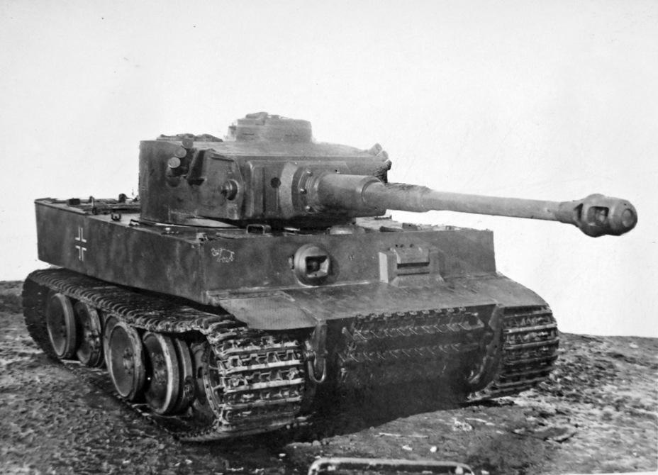 ?«Тигр» с башенным номером 121 на НИБТ Полигоне, апрель 1943 года - Тяжёлый трофей   Военно-исторический портал Warspot.ru