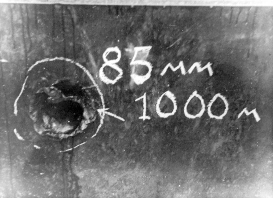 ?85-мм зенитная пушка 52-К показала наилучшие данные по пробиваемости среди орудий среднего калибра. Неудивительно, что именно ее определили приоритетной для вооружения тяжелых танков и средних САУ - Тяжёлый трофей   Военно-исторический портал Warspot.ru
