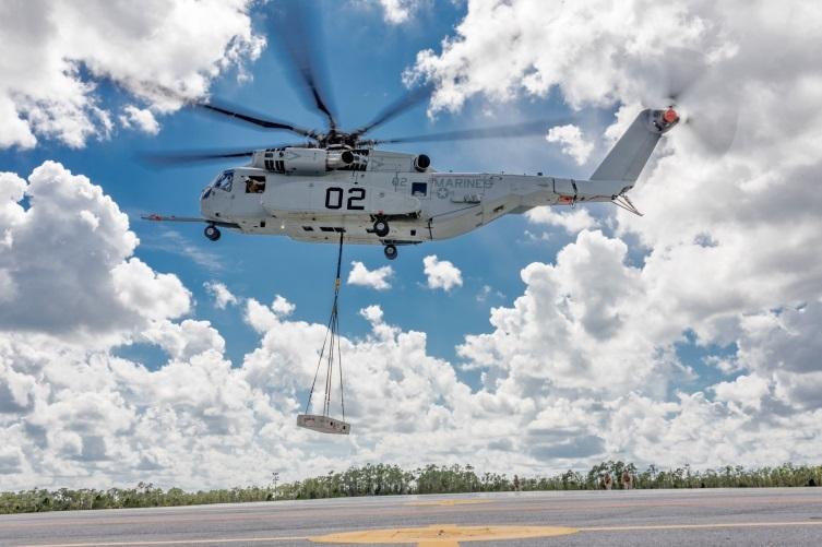 ?Вертолёт CH-53K King Stallion во время испытаний usni.org - «Жеребец» пошёл в серию | Военно-исторический портал Warspot.ru