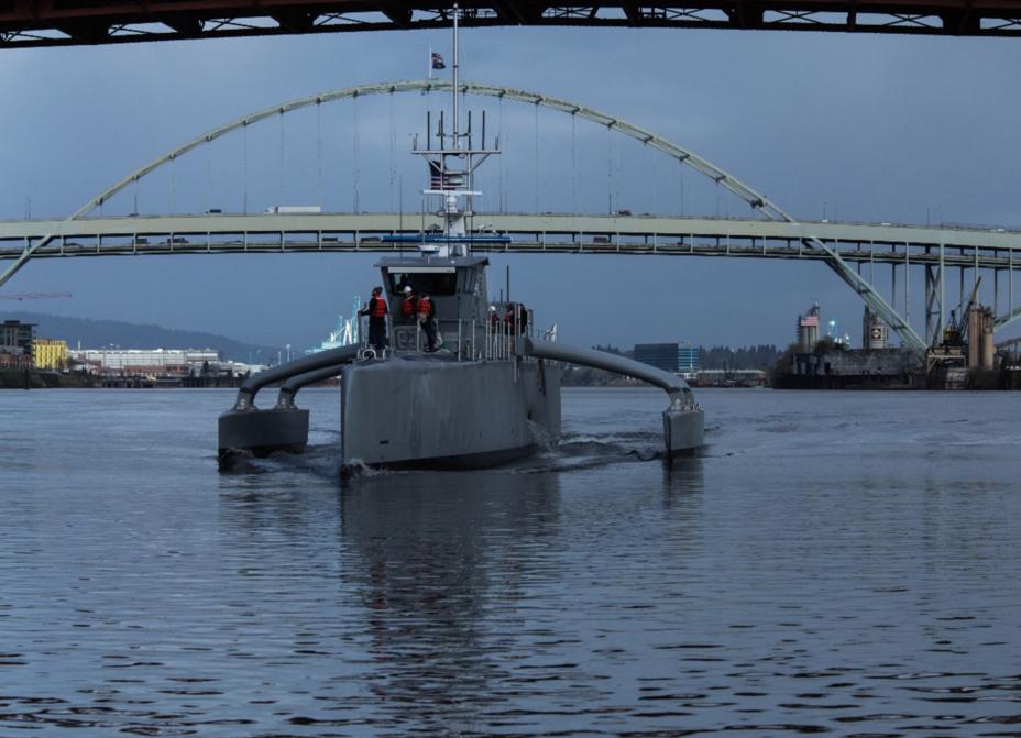 Беспилотный тримаран Sea Hunter usni.org - «Морской охотник» пойдёт в серию | Военно-исторический портал Warspot.ru