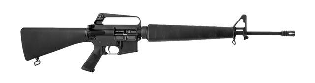 Комплект Complete Retro Furniture Set, Black на винтовке AR-15 thefirearmblog.com - M16 снова в моде | Военно-исторический портал Warspot.ru