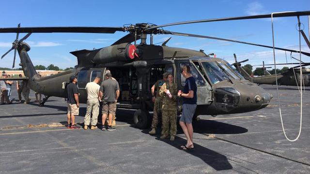 Вертолёт UH-60 Black Hawk – один из участников происшествия. fox5ny.com - Военный вертолёт впервые столкнулся с дроном | Военно-исторический портал Warspot.ru
