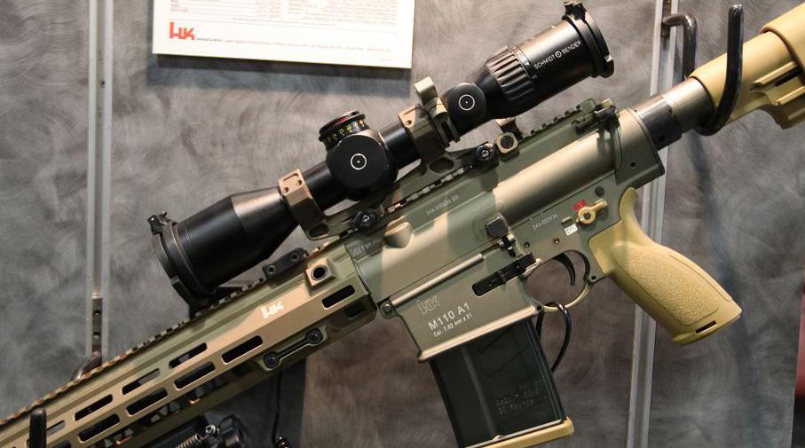 Винтовка M110A1. armyrecognition.com - M110A1: немецкая работа над американскими ошибками | Военно-исторический портал Warspot.ru