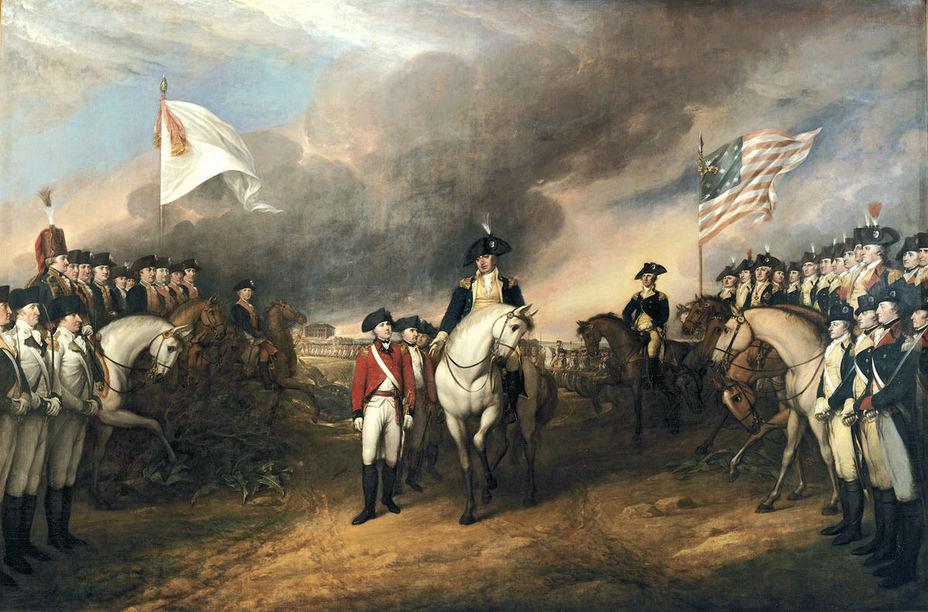 Сдача генерала Корнуоллиса 19 октября 1781 года - Французский подарок американским патриотам | Военно-исторический портал Warspot.ru