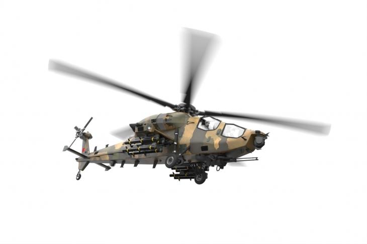Компьютерная модель вертолёта ATAK 2. tai.com.tr - У Турции будет свой боевой вертолёт | Военно-исторический портал Warspot.ru