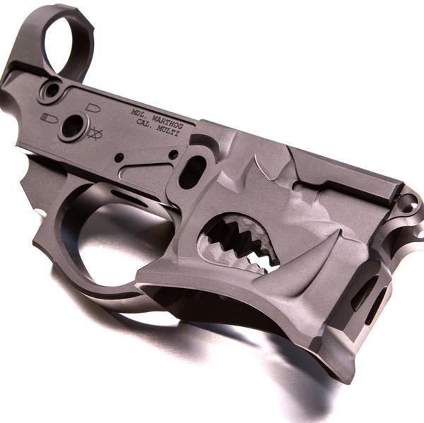 Нижний ресивер Warthog. thefirearmblog.com - Американцы предлагают делать AR-15 «зубастыми» | Военно-исторический портал Warspot.ru