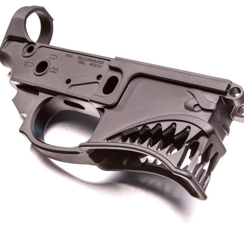 Нижний ресивер Hellbreaker. thefirearmblog.com - Американцы предлагают делать AR-15 «зубастыми» | Военно-исторический портал Warspot.ru