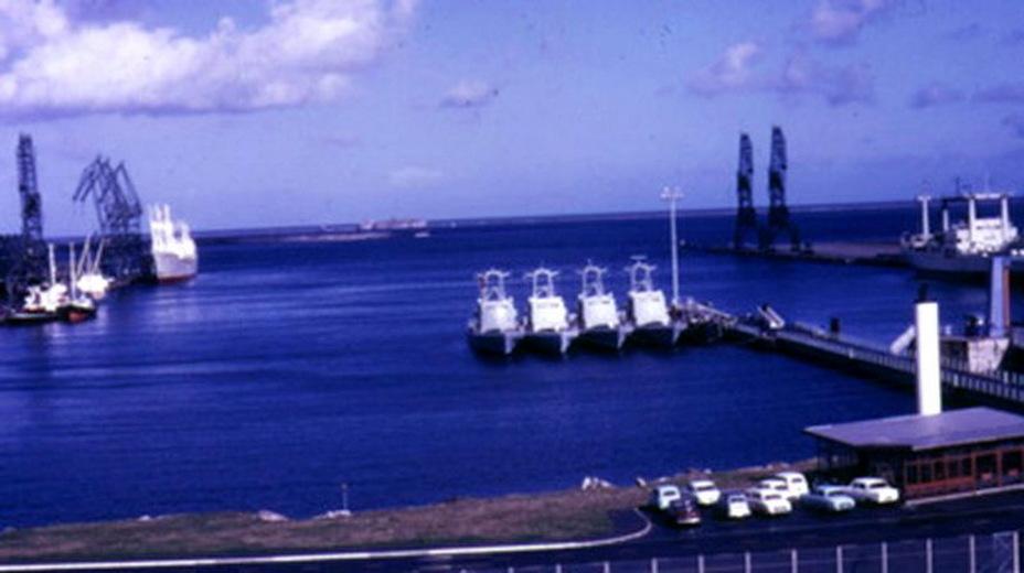 Четыре катера в гавани Шербура, осень 1969 года - Угон шербурских катеров | Военно-исторический портал Warspot.ru