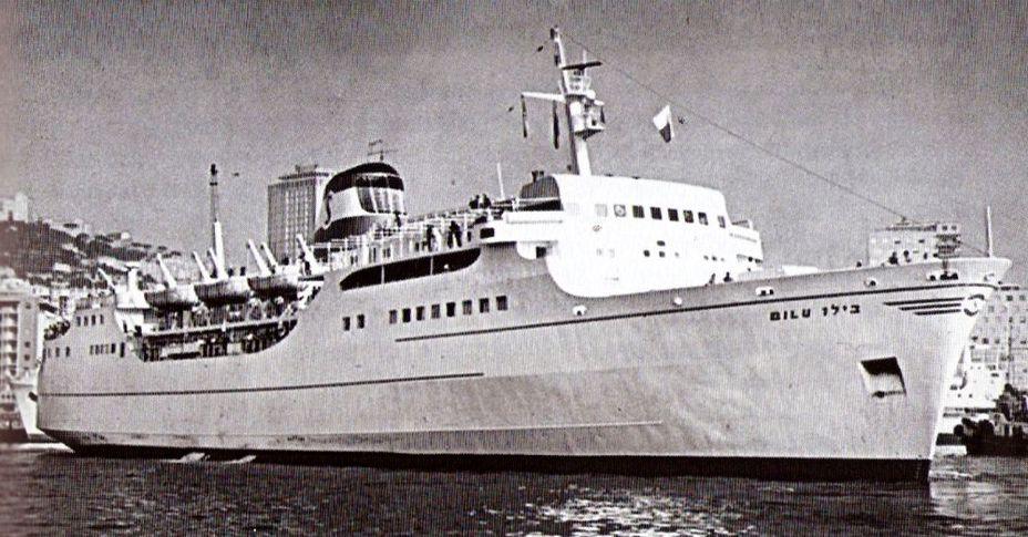 «Дан», второй из двух кораблей-заправщиков. commons.wikimedia.org - Угон шербурских катеров | Военно-исторический портал Warspot.ru