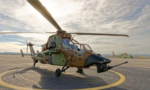Вертолёт EC 665 HAD Tiger. defence-blog.com - Французы вооружились модернизированным «Тигром» | Военно-исторический портал Warspot.ru