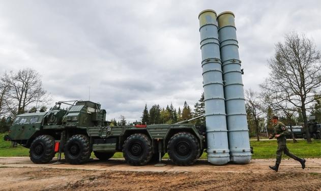 Пусковая установка ЗРК С-400. arms-expo.ru - «Триумф» для члена НАТО | Военно-исторический портал Warspot.ru