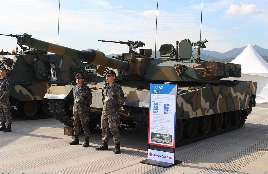 Танк K1A2. armyrecognition.com - Военные неудачи ушедшего года | Военно-исторический портал Warspot.ru